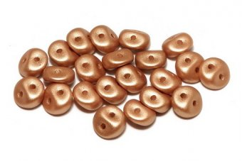 Es-o® Bead, 5 mm, Alabaster Metallic Copper-29412