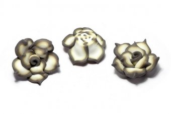 Margele din polimer, 19~23x10 mm