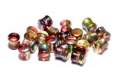 Diabolo Beads, 4x6 mm, Crystal Magic Apple - 00030-95600