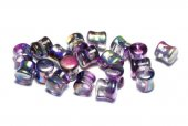 Diabolo Beads, 4x6 mm, Crystal Magic Purple - 00030-95500