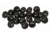 Es-o® Bead, 5 mm, Alabaster Metallic Black-29400