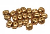 Es-o® Bead, 5 mm, Alabaster Metallic Brass-29415
