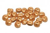Es-o® Bead, 5 mm, Alabaster Metallic Gold-29421