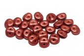 Es-o® Bead, 5 mm, Alabaster Metallic Red-29408