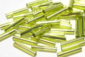 Margele TOHO, Bugle, 9 mm, Lime Green