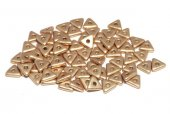 Tri-bead, 4 mm, Aztec Gold - 01710